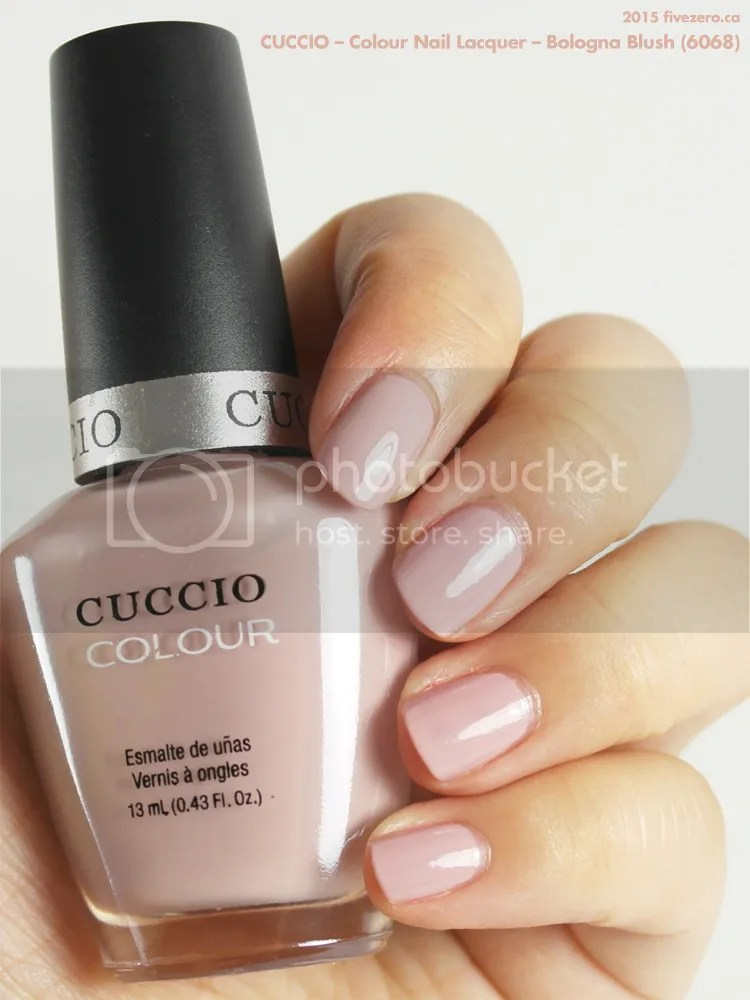 Cuccio Colour Nail Lacquer in Bologna Blush, swatch