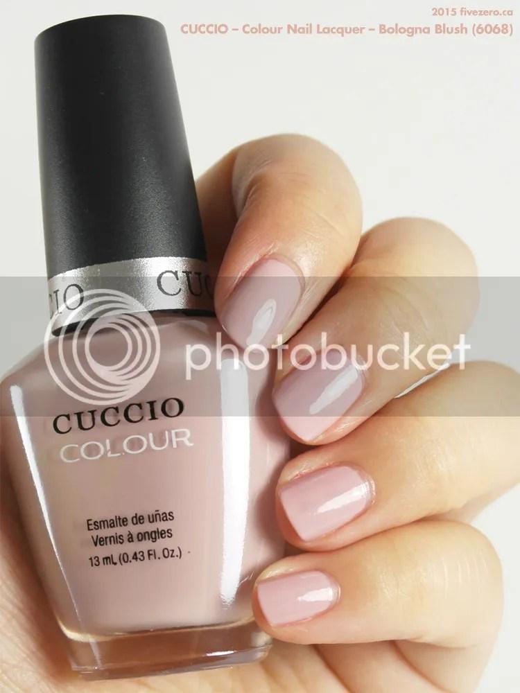 Cuccio Colour Nail Lacquer in Bologna Blush, swatch