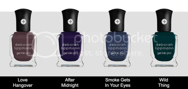 Deborah Lippmann, After Midnight collection Fall 2016 Gel Lab Pro Nail Lacquer