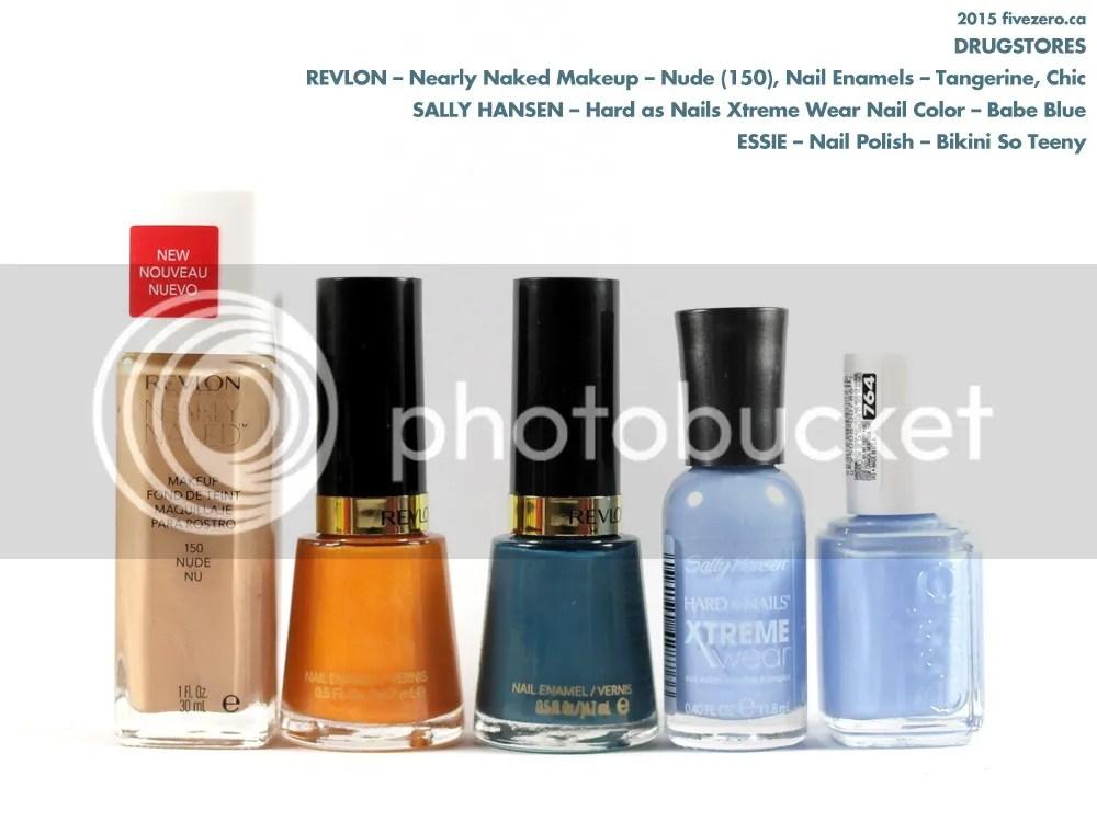Drugstore haulage, Essie, Revlon, Sally Hansen, nail polish, foundation