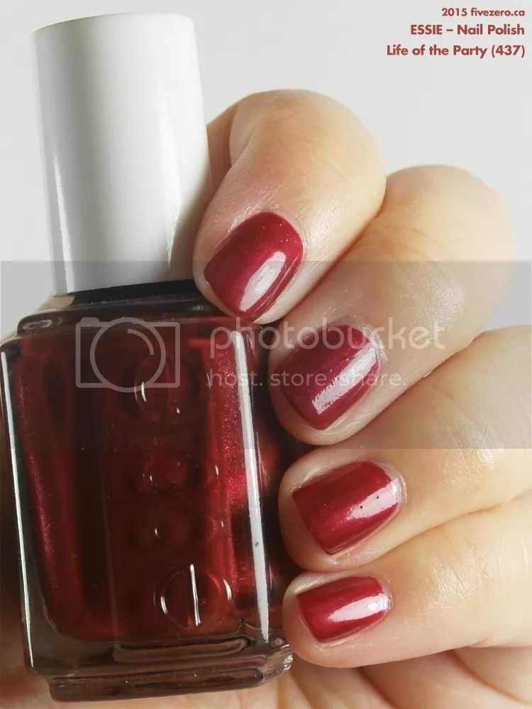 Essie Nail Polish in Life of the Party, swatch