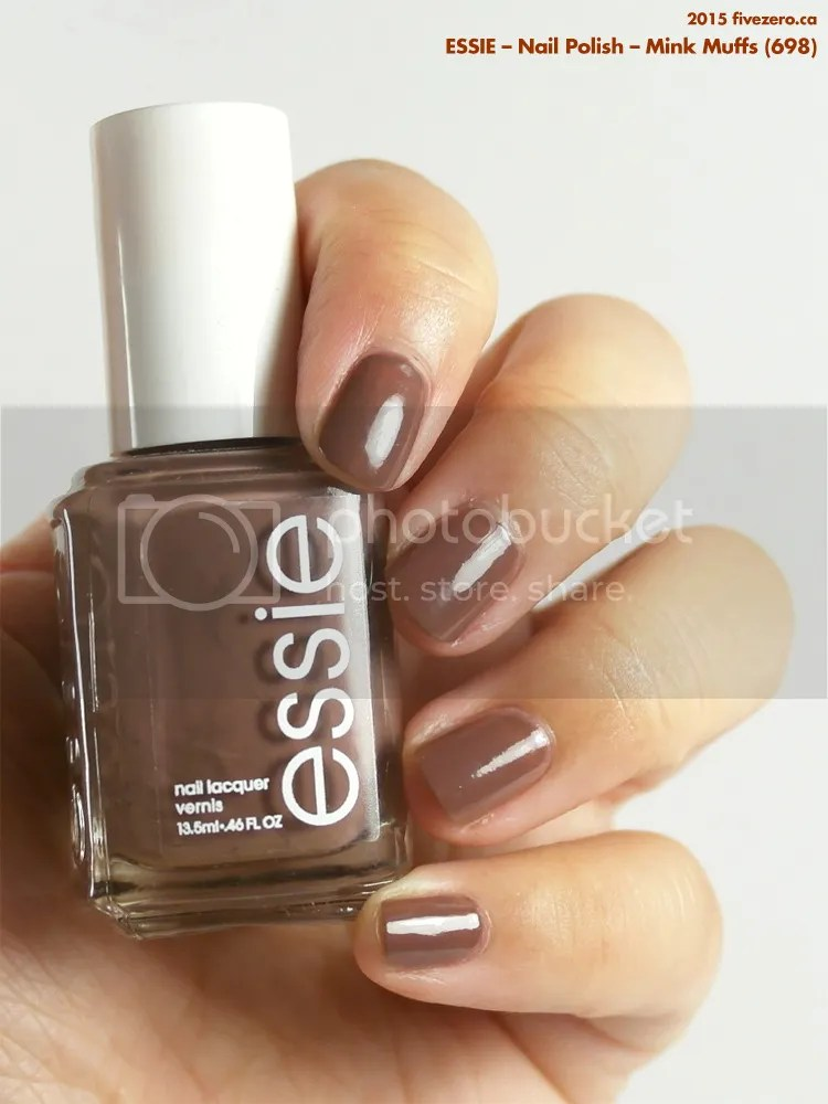 Essie Nail Polish in Mink Muffs, swatch