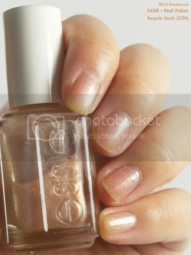 Essie Nail Polish in Sequin Sash, swatch
