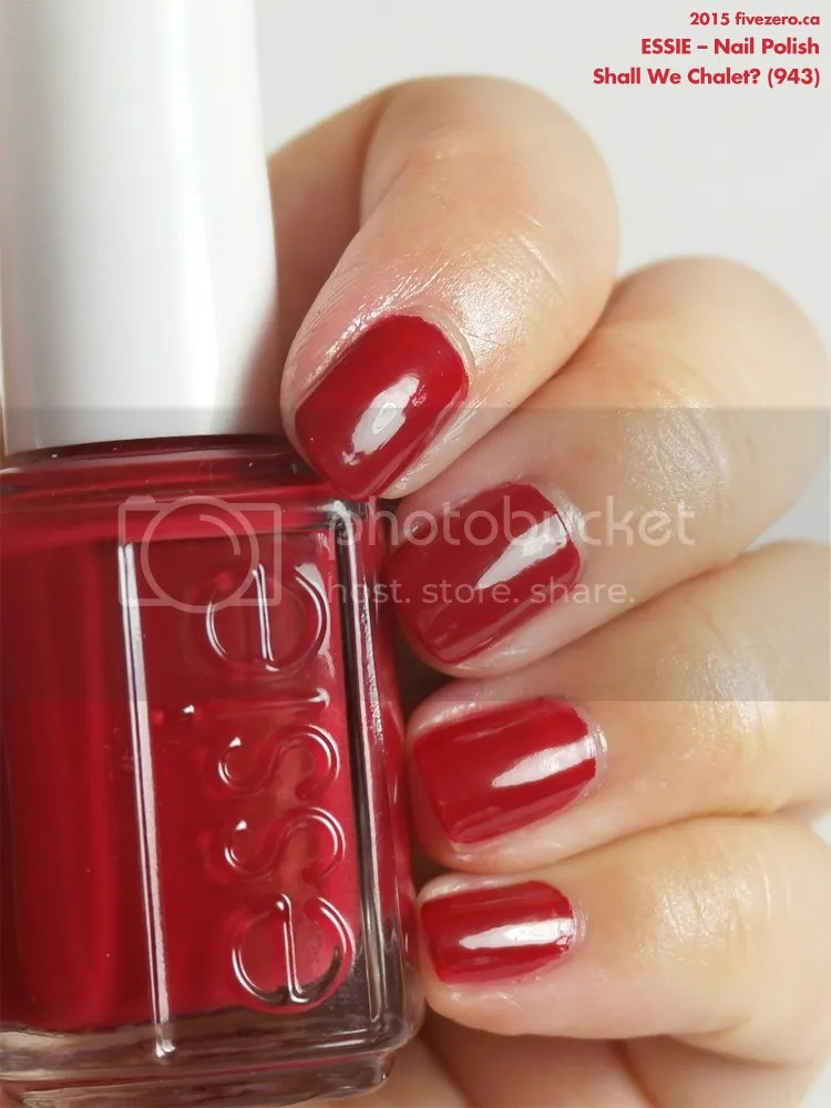Essie Nail Polish in Shall We Chalet?, swatch