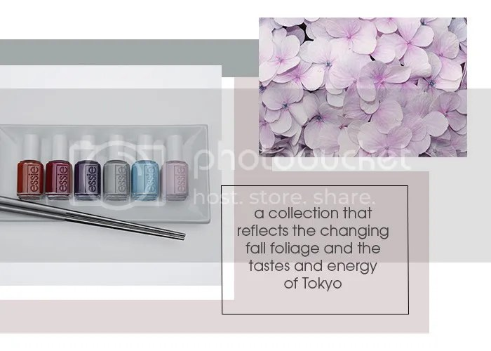 Essie Fall 2016 collection, Tokyo Japan nail polish
