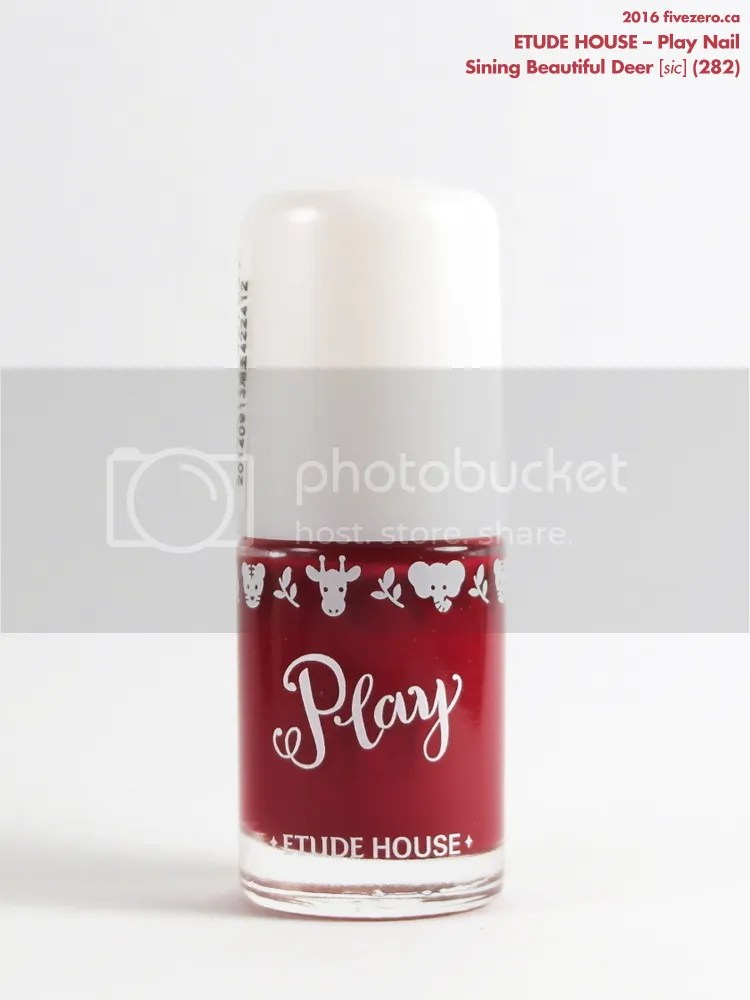 Etude House Play Nail in Sining Beautiful Deer, bottle
