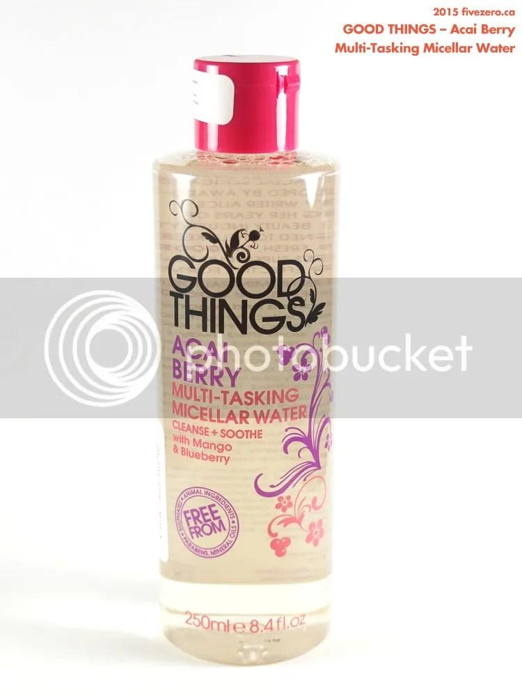 Good Things Acai Berry Multi-Tasking Micellar Water