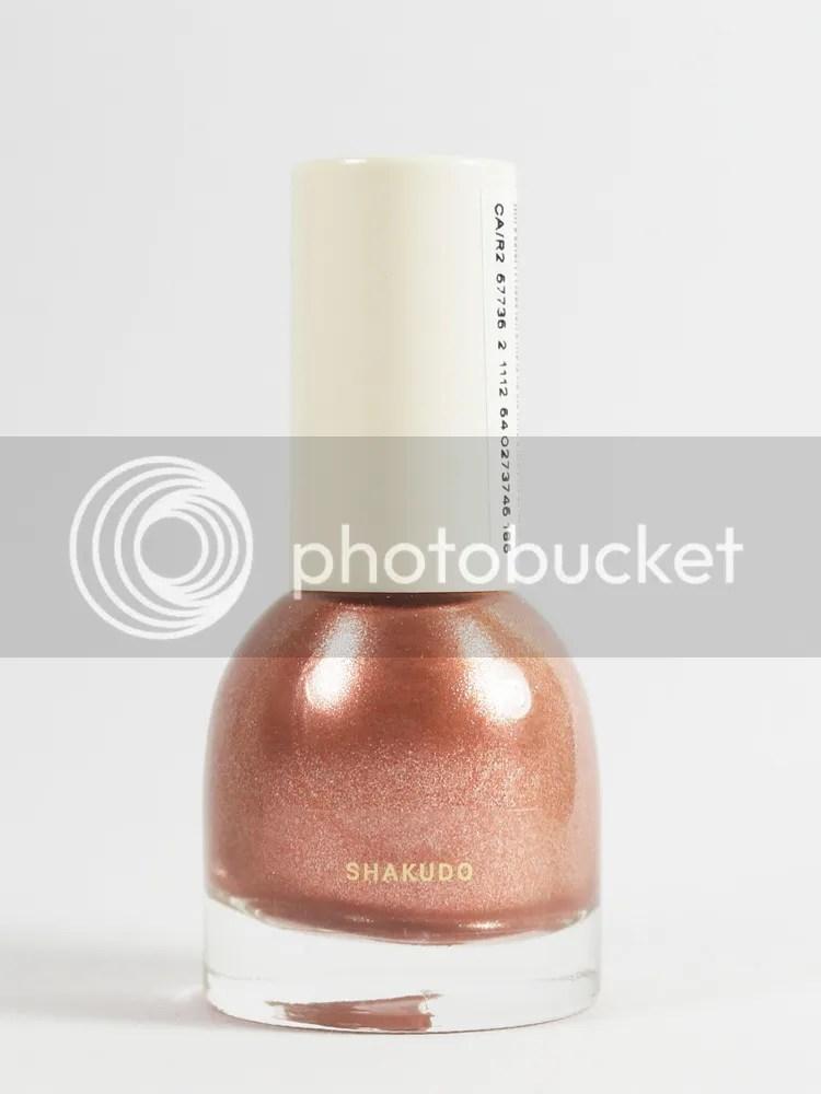 H&M Nail Polish in Shakudo, label