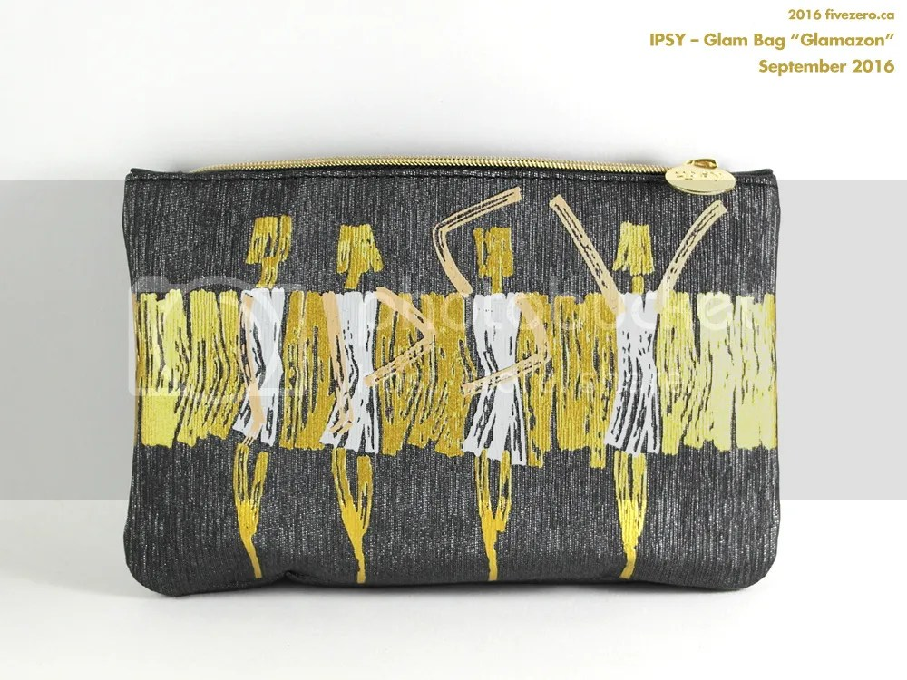 Ipsy makeup bag, September 2016, Glamazon