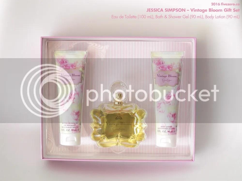 Jessica Simpson, Vintage Bloom Gift Set