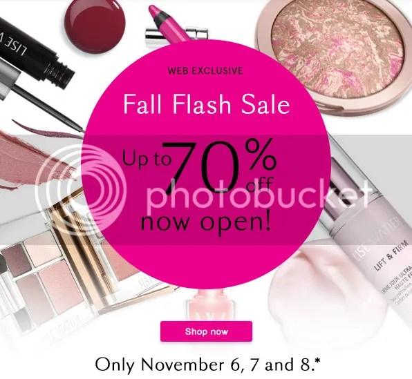 Lise Watier Fall Flash Sale 2015