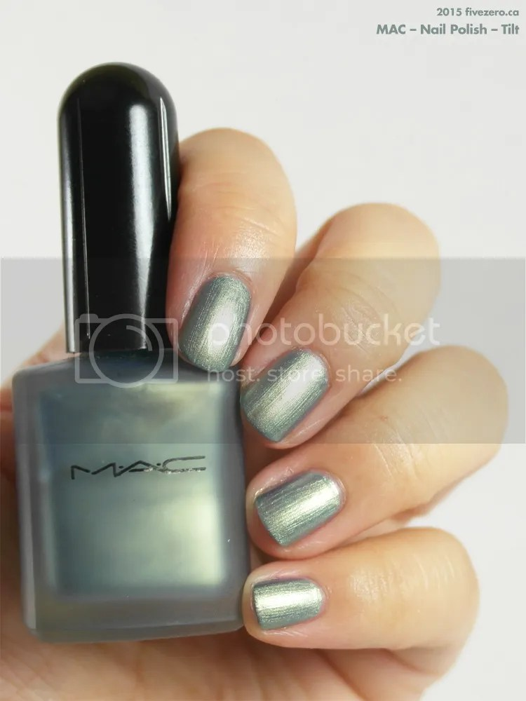 MAC Nail Polish in Tilt, swatch