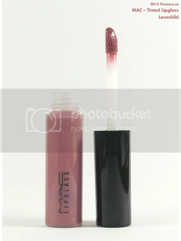 MAC Lipglass in lovechild
