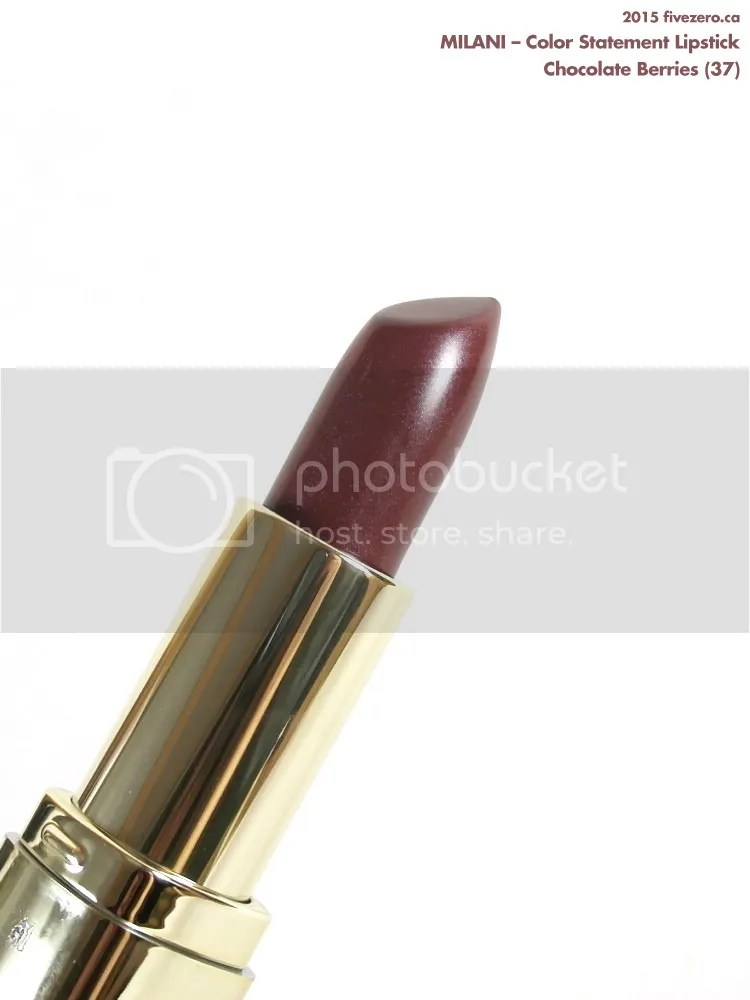 Milani Color Statement Lipstick in Chocolate Berries