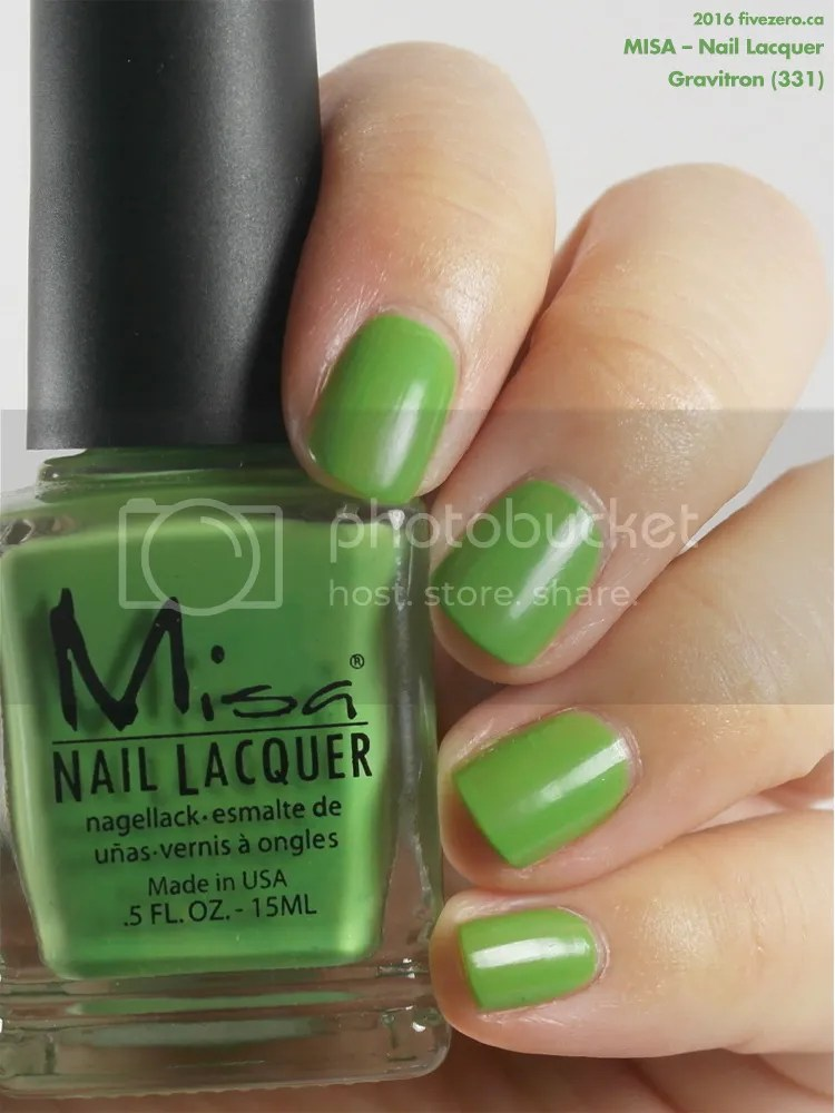 Misa Nail Lacquer in Gravitron, swatch
