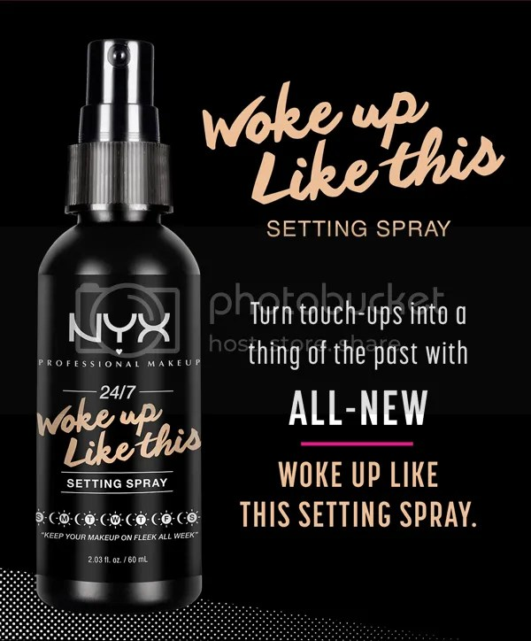 NYX April Fools 2016 124 Hour Coverage Woke Up Like This Setting Spray