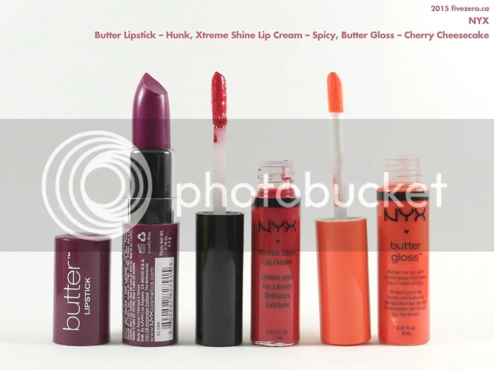 Drugstore haulage, NYX lipstick & lipgloss