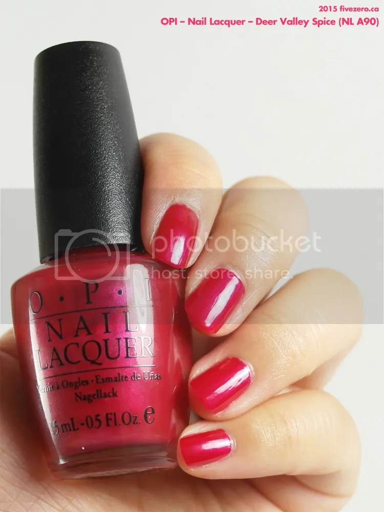 OPI Nail Lacquer in Deer Valley Spice, swatch