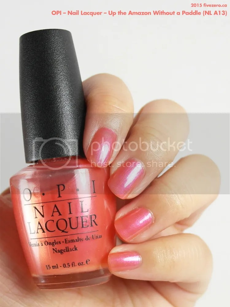 OPI Nail Lacquer in Up the Amazon Without a Paddle, swatch