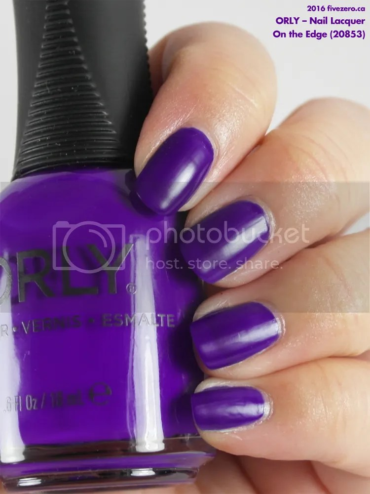 Orly Nail Lacquer in On the Edge, swatch