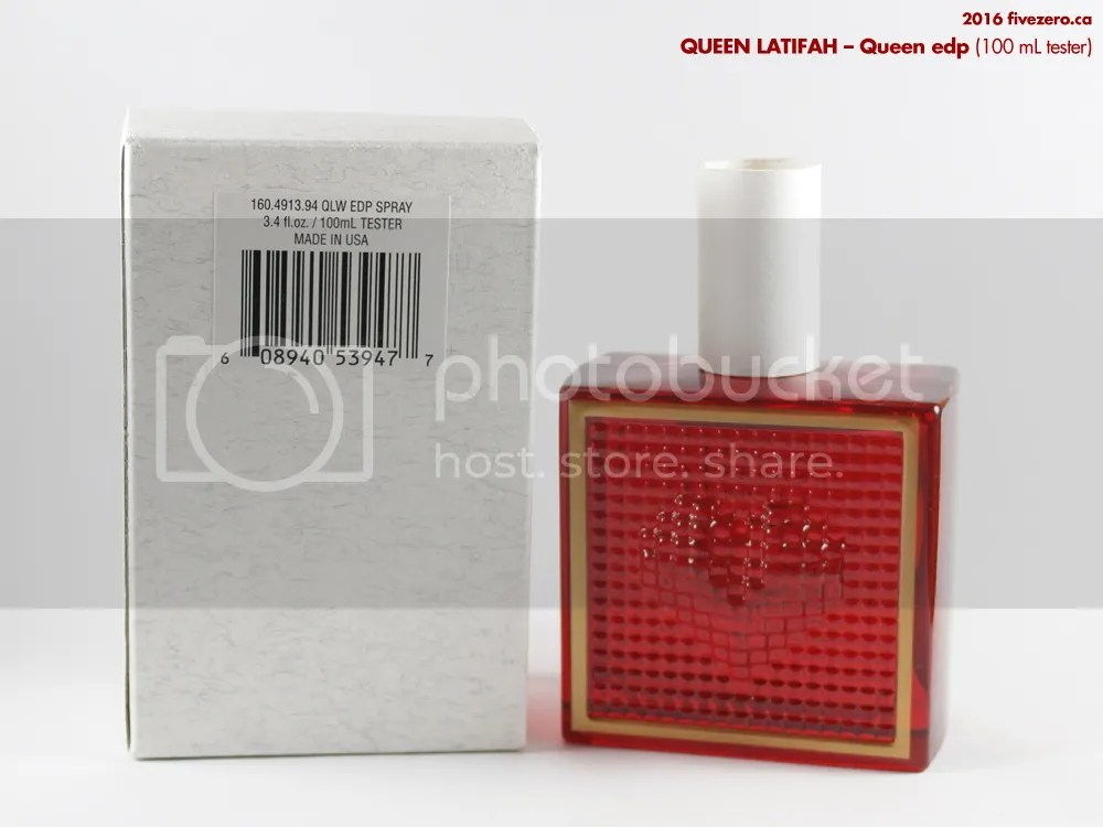 Queen Latifah, Queen edp 100 mL tester