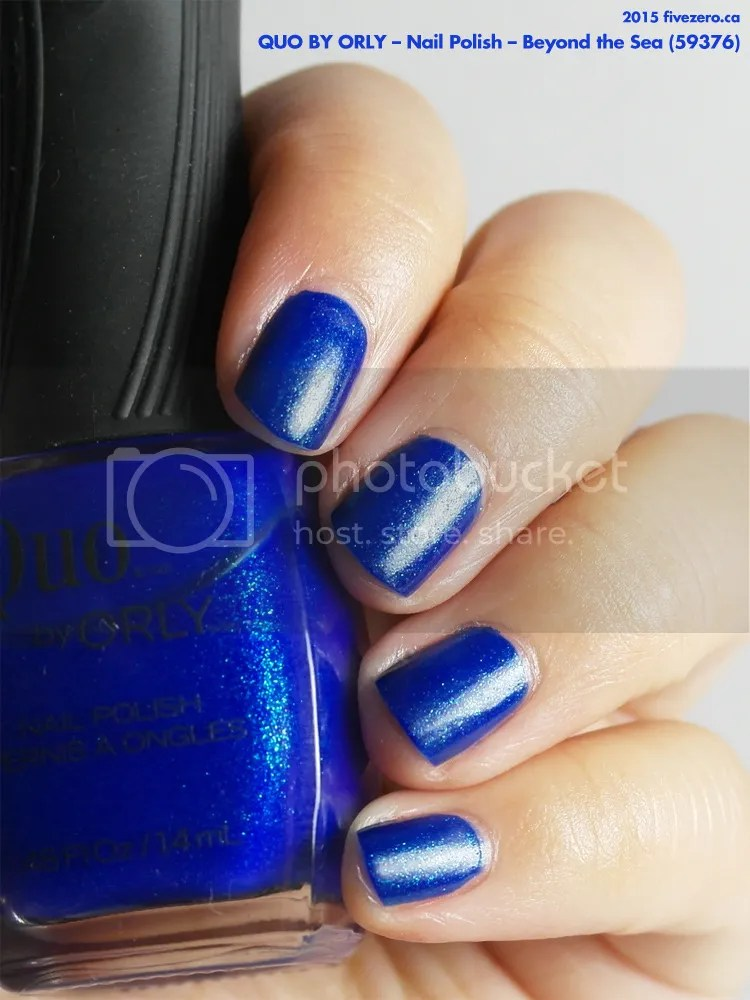 Quo by Orly Nail Polish in Beyond the Sea, swatch