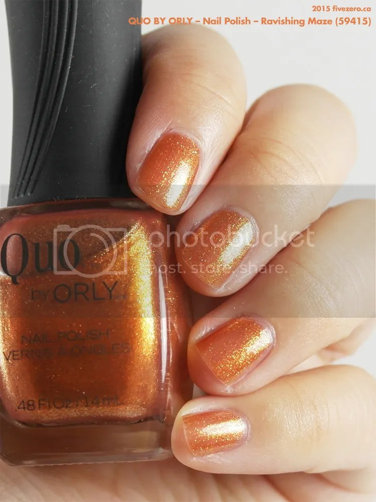 Quo by Orly Nail Polish in Ravishing Maze, swatch