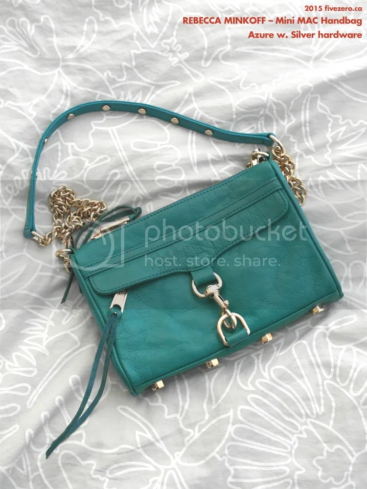 Rebecca Minkoff, Mini MAC, Azure with Silver hardware
