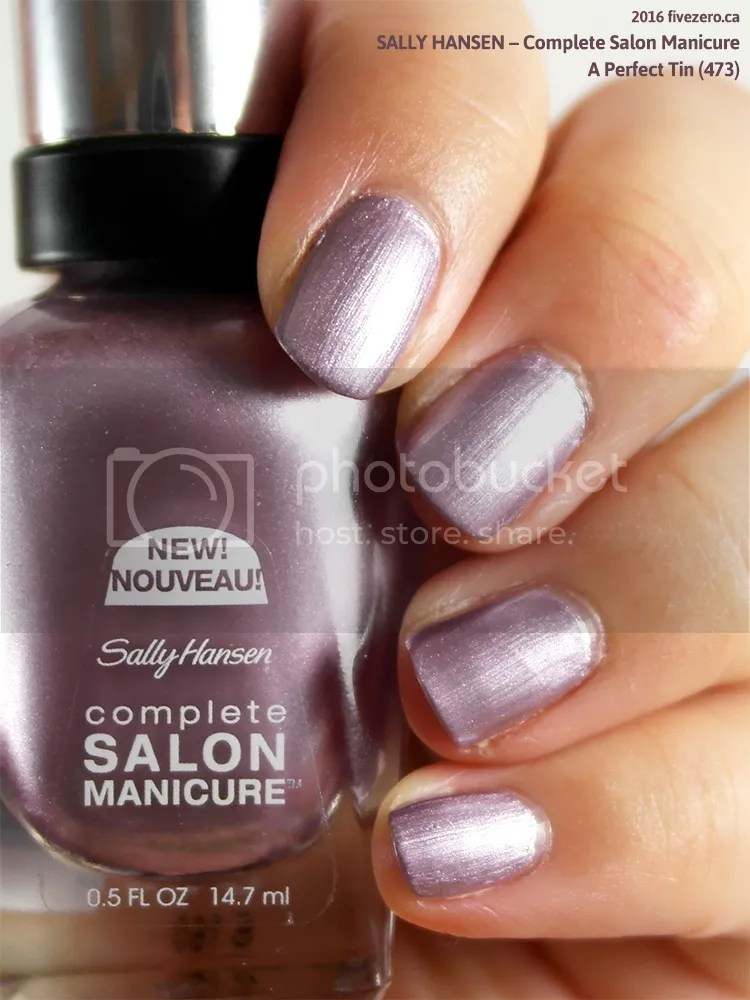 Sally Hansen Complete Salon Manicure in A Perfect Tin, swatch