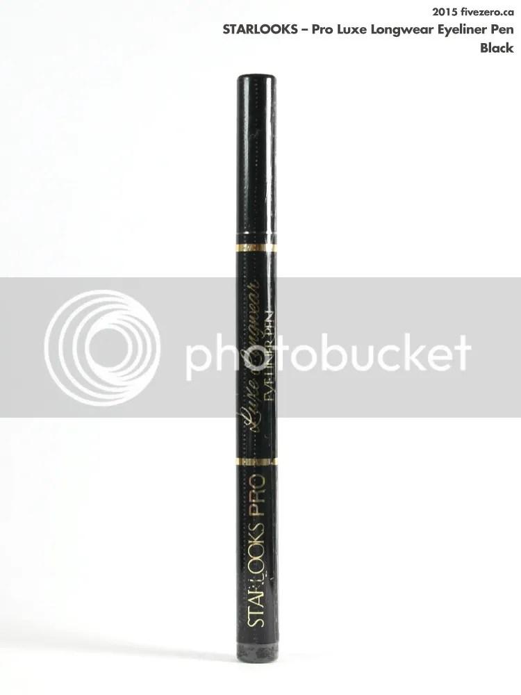 Starlooks Pro Luxe Longwear Eyeliner Pen in Black
