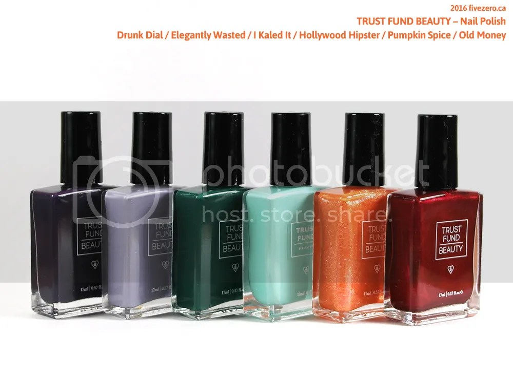 Trust Fund Beauty Nail Polish haulage 2