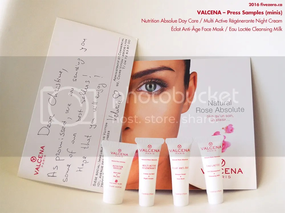 Valcena press samples, minis, 2016