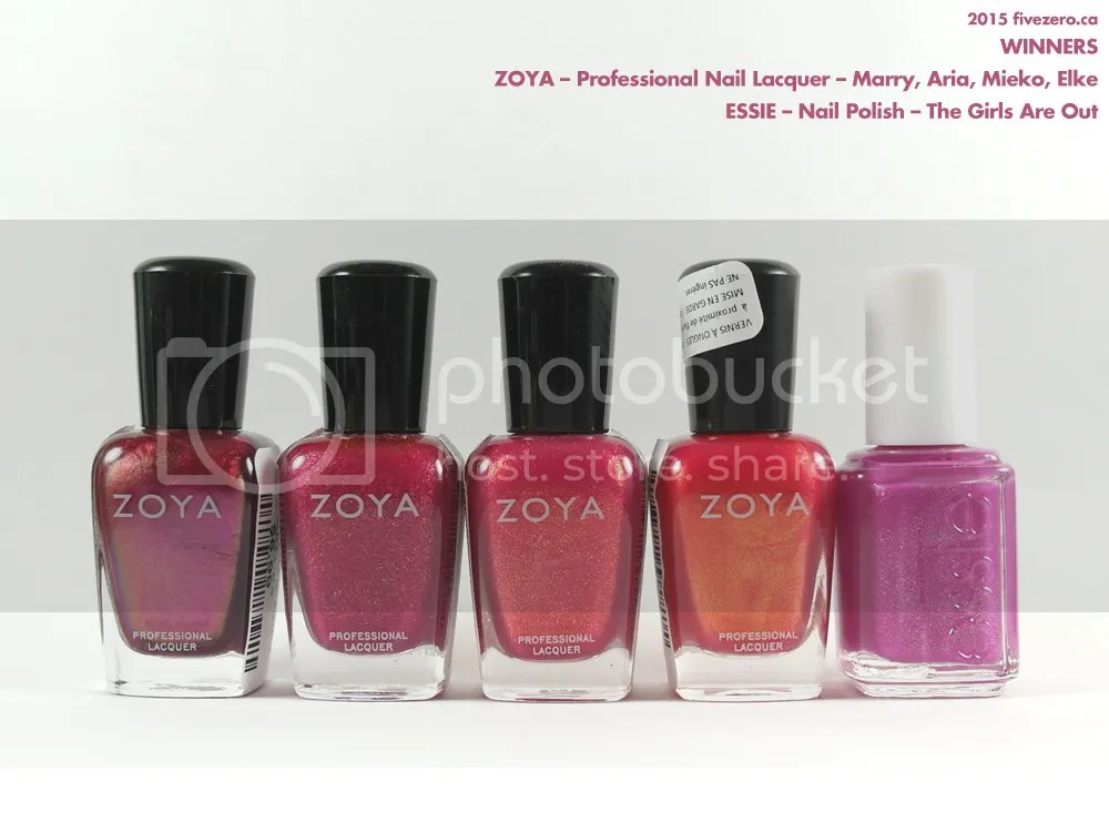 Winners Canada haulage, Zoya & Essie nail polish