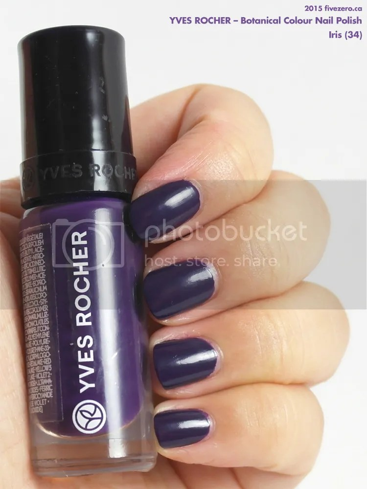 Yves Rocher Botanical Colour Nail Polish in Iris, swatch