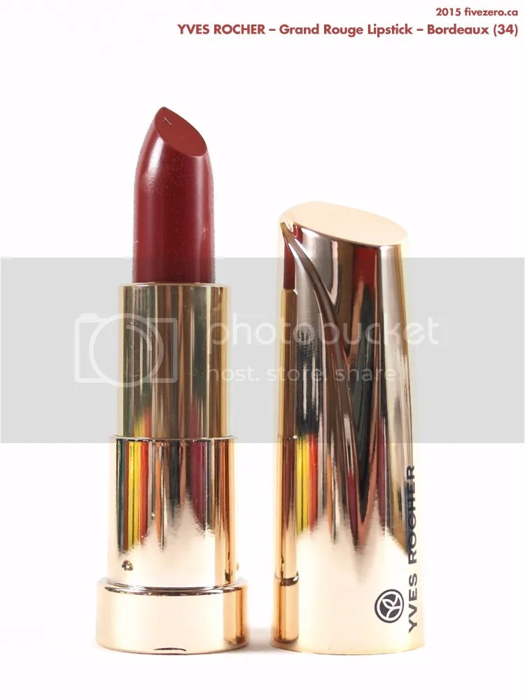 Yves Rocher Grand Rouge Lipstick in Bordeaux (34)