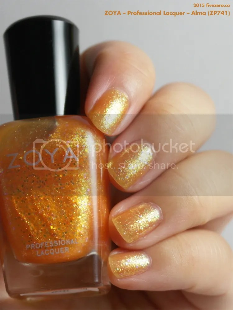Zoya Professional Lacquer in Alma, swatch