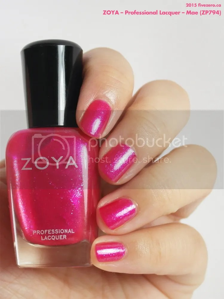 Zoya Professional Lacquer in Mae, swatch