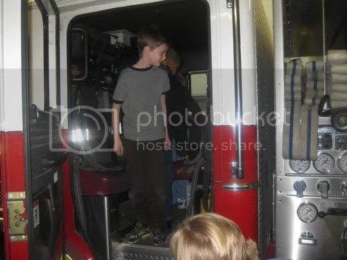 Fire Station Field Trip