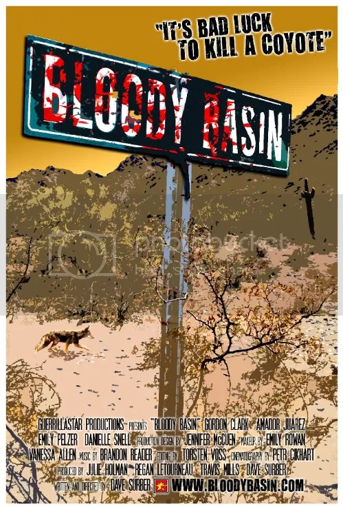 BLOODY BASIN ONE SHEET / POSTER