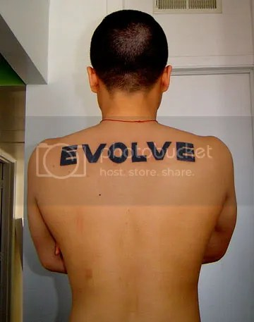 evolve tattoo