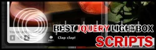 Best Free jQuery Lightbox Scripts