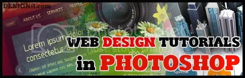 Web Design Tutorials in Adobe Photoshop