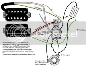 How do I wiring a dean ml x guitar it as one vol pot one
