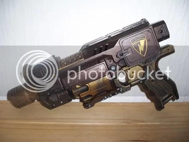 Steampunk Nerf Gun - N-Strike Barricade