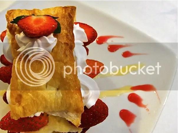 strawberry strudel