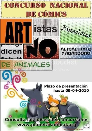 Concurso de comics planeta animal