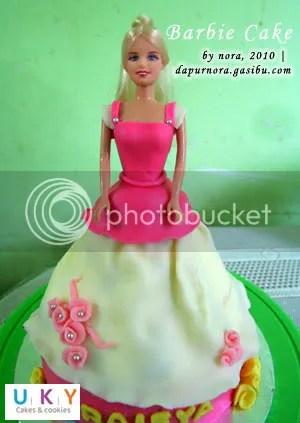barbie cake bandung