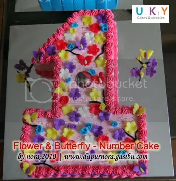 cake angka bandung