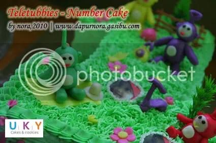teletubbies cake bandung