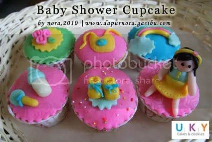 aqiqah cupcake